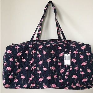 NWT VERA BRADLEY LARGE DUFFLE BAG TRAVEL BAG